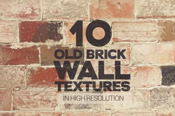 1 Old Brick Wall Textures x10 (2340)2