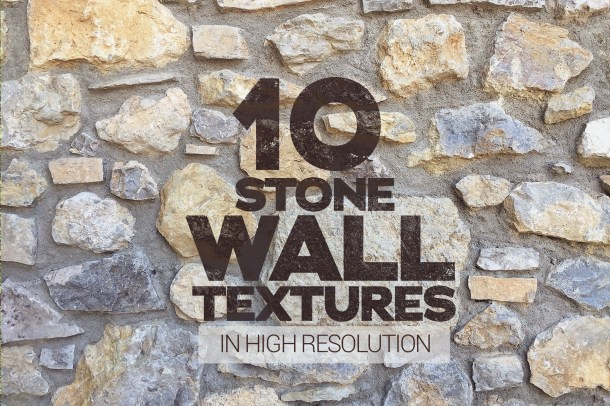 1 Stone Wall Textures x10 (2340)4